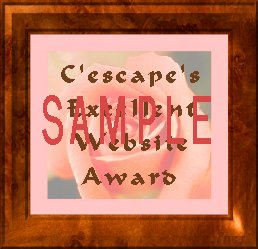 C'escape's Excellence Award